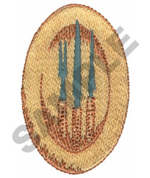 PLATTER embroidery design