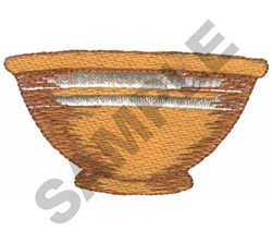 MIXING BOWL embroidery design