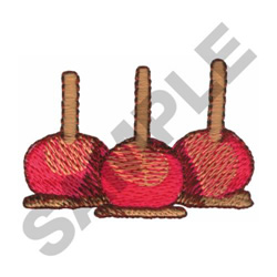 CANDIED APPLES embroidery design