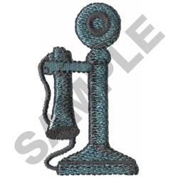 TELEPHONE embroidery design