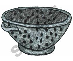 STRAINER embroidery design