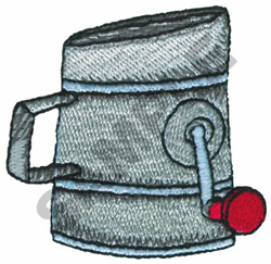FLOUR SIFTER embroidery design