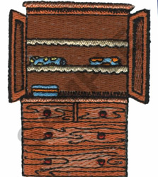 ARMOIRE embroidery design