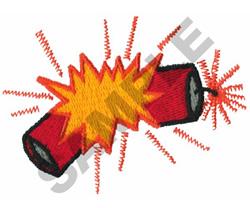 FIRECRACKER embroidery design