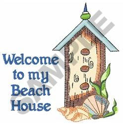 welcome to my beach house embroidery designs machine
