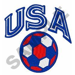 USA SOCCER embroidery design