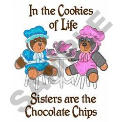 IN THE COOKIES OF LIFE embroidery design