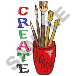 CREATE ART embroidery design