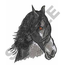 HORSES HEAD embroidery design