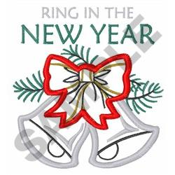 NEW YEAR APPLIQUE embroidery design