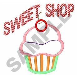 SWEET SHOP APPLIQUE embroidery design