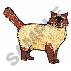RAGDOLL embroidery design