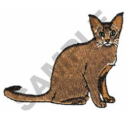 ABYSSINIAN embroidery design
