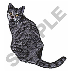 BRITISH SPOTTED SHORTHAIR embroidery design