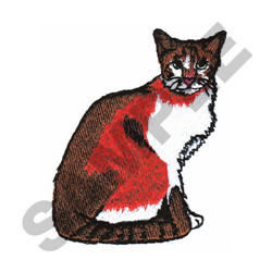 SNOWSHOE embroidery design
