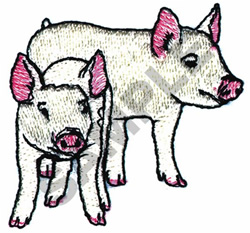PIGLETS embroidery design