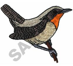 WREN embroidery design