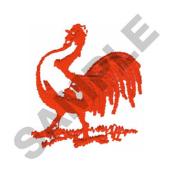 COCK/ROOSTER embroidery design