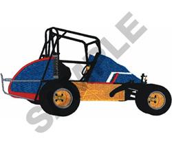 MIDGET RACER embroidery design