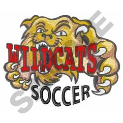 WILDCATS SOCCER embroidery design