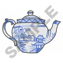 JAPANESE TEAPOT embroidery design