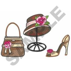 FASHION ACCESSORIES embroidery design