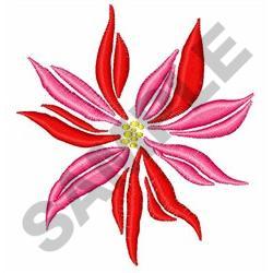 POINSETTIA FLOWER embroidery design