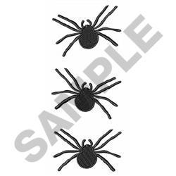SPIDERS BORDER embroidery design
