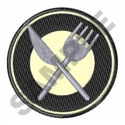PLACE SETTING embroidery design