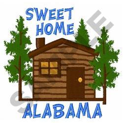 SWEET HOME ALABAMA embroidery design