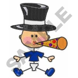 NEW YEARS BABY embroidery design