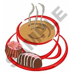 COFFEE AND CHOCOLATES embroidery design
