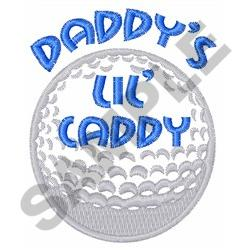DADDYS LIL CADDY embroidery design