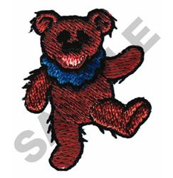 DANCING BEAR embroidery design