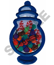 CANDY JAR (GLASS) embroidery design