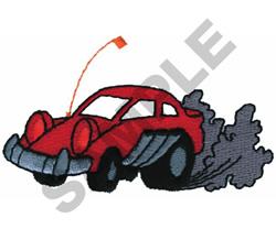 RACE CAR embroidery design