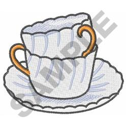 STACKED CUPS embroidery design