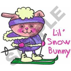 LIL SNOW BUNNY embroidery design