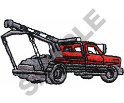 TOW TRUCK embroidery design