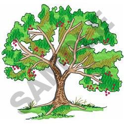 CHERRY TREE embroidery design