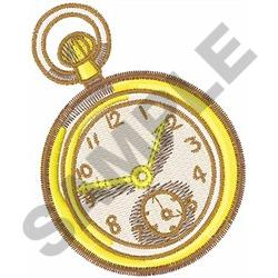 POCKET WATCH embroidery design