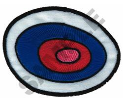 CIRCLE ABSTRACT APPLIQUE embroidery design