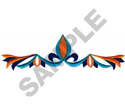 ETHNIC BORDER embroidery design