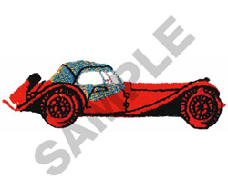 CLASSIC CAR embroidery design