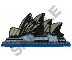 SYDNEY HALL embroidery design