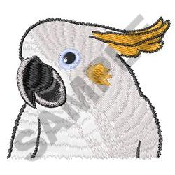 COCKATOO BUST embroidery design