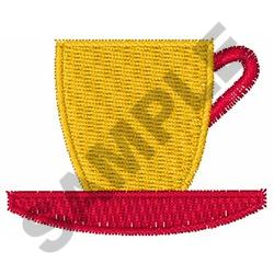 MINI COFFE CUP embroidery design