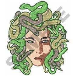 MEDUSA embroidery design