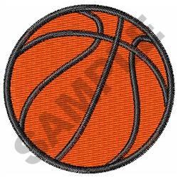 SMALL BASKETBALL embroidery design