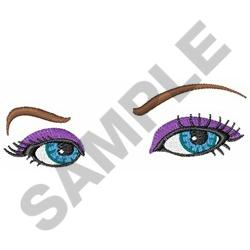 WOMANS EYES embroidery design